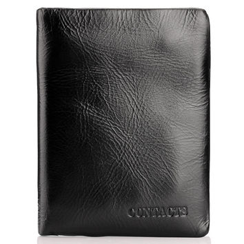 Men Leather Stylish Casual Wallet [9026453507]