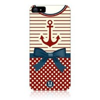 Head Case Anchor Nautical Clothing Design Back Case Cover For Apple Iphone 5