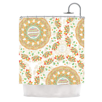 "Miranda Mol ""Bohemian Bright"" Geometric Multicolor Shower Curtain"