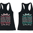 Cute Best Friend Matching Tank Tops - Best Friend Quote BFF Tanks