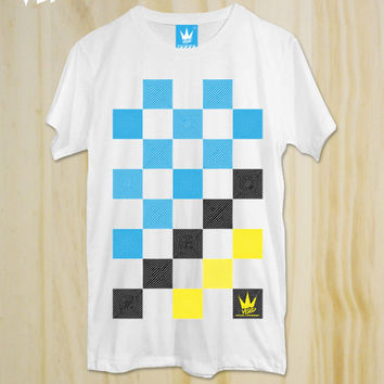 Checked ,T-Shirt, Colorful T-shirt ,Friend Gift,Teen Shirt ,tumblr shirt,Hipster Shirt,Swag Shirt,Graphic t-Shirt