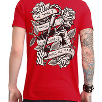 Pierce The Veil Roses T-Shirt | Hot Topic