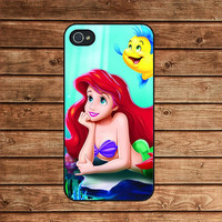 Ariel--iphone 4 case,iphone 4s case,iphone 4 cover,in plastic or silicone case