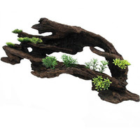 Top Fin® Large Hollowed Out Driftwood
