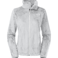 The North Face Osito 2 Jacket for Women in High Rise Grey and White C782-A5Z