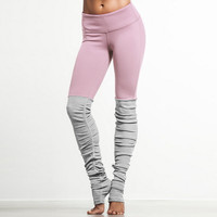 High Waist Yoga Pants Women Elastic Leggings