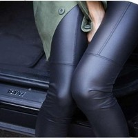 Faux Leather Leggings from Clothes Minded