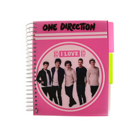 One Direction A5 Pink Notebook