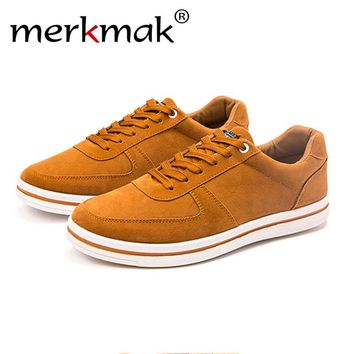 Merkmak Fashion Canvas Men's Flats Shoes 2017 Spring Autumn Casual Men Outdoor Breathable Footwears Softs Moccasins Dropshipping