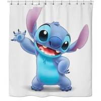 Stitch Shower Curtain