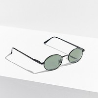 Solar Specs Vintage Europa Oval Metal Sunglasses | Urban Outfitters