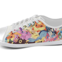 Eeveelution Low Top Shoes