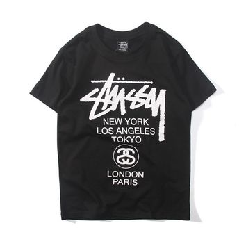 99ffee751b7 Stussy Woman Men Multicolor Fashion Tunic Shirt Top Blouse