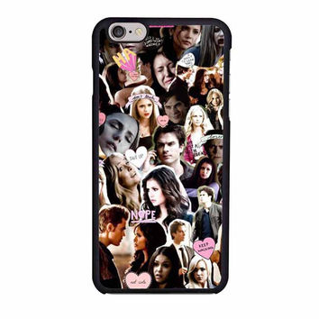 the vampire diaries collage nina paul ian case for iphone 6 6s