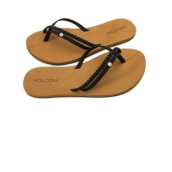 Volcom Women's Thrills Sandals - Black
