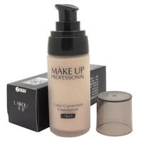 Cosmetic Whitening Liquid Foundation Concealer Moisturizing Waterproof Nude Beauty Makeup LY4