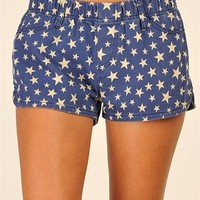 4th of July Shorts - Blue at Necessary Clothing