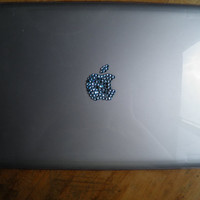 Macbook Pro Bedazzled Apple Laptop Case