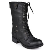 Holly Midcalf Combat Boots