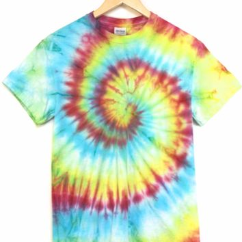 ONE OF A KIND Tie Dye Unisex Tee #4 Size Small