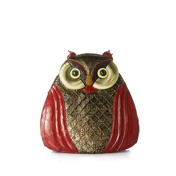 New Vintage Owl Multi-functional Crossbody Shoulder Bag