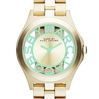 MARC BY MARC JACOBS 'Henry Skeleton' Bracelet Watch, 34mm