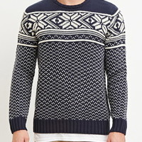 Fair Isle-Patterned Sweater