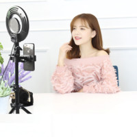 8inch 24W 120 LED Ring Light 5500K Camera Photo Studio Phone Video Photography Dimmable Ring Lamp With Tripod stand  SCR1044