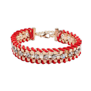 Hot Sale Great Deal Shiny Stylish New Arrival Awesome Gift Rhinestone Bracelet [4918808132]