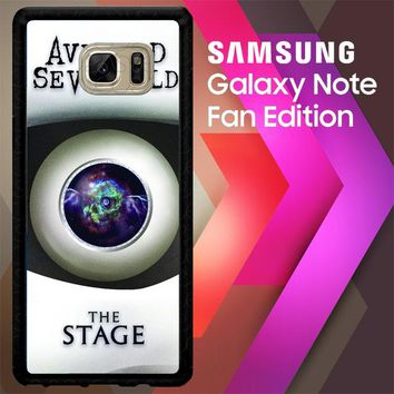 The Stage Avenged Sevenfold Z4092 Samsung Galaxy Note FE Fan Edition Case