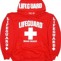 Lifeguard Miami Beach Hoodie Sweatshirt