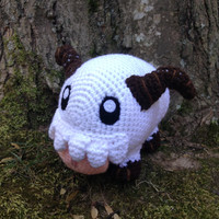 League of Legends Inspired: Poro Amigurumi (Crochet Plushie/Plush Toy) - MADE TO ORDER