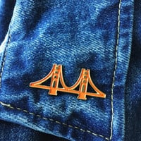 Golden Gate Bridge Lapel Pin