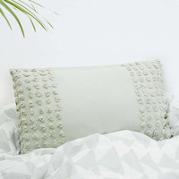 Chenille Tufted Cushion - Urban Outfitters