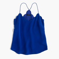 Scalloped Carrie cami : | J.Crew