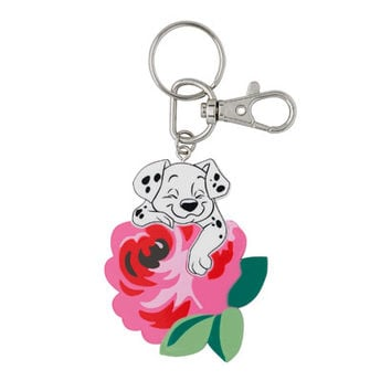 Puppy and Rose Key Ring | View All | CathKidston
