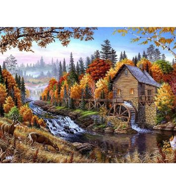 YANXIN DIY Framed Painting By Numbers Oil Paint Photo Wall Art Digital Pictures Painting Decor For Home Decoration Gifts C128