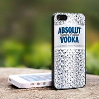 Absolute Vodka Limited Edition - For iPhone 5 Black Case Cover