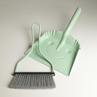 Mint Smiley Dustpan - World Market