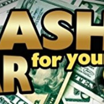 Cash For Your Car Vinyl Banner Sign