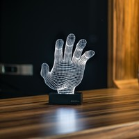 Hand 3D Illusion LED Lamp