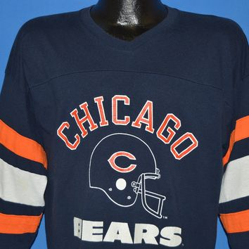 80s Chicago Bears NFL Jersey t-shirt Extra Large