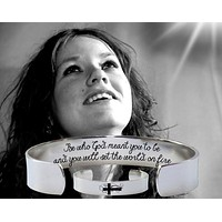 Be who God meant you to be Bracelet   Encouragement Gift