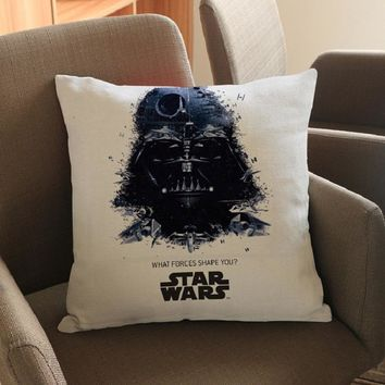 Star Wars Linen Throw Pillow Cover