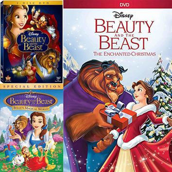 Beauty & The Beast DVD Trilogy Set All 3 Movies