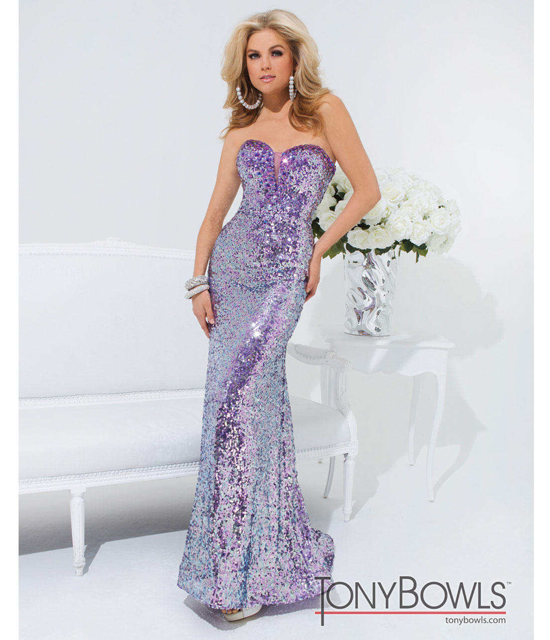 Pre Order Tony Bowls 2014 Prom Dresses From Unique Vintage