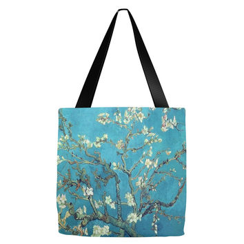 Van Gogh Almond Blossoms Tote Bag 18 x 18""