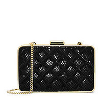 MICHAEL Michael Kors Elise Quilted Box Clutch