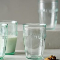 Euro Milk Glasses by Anthropologie Clear Set Of 6 Dinnerware
