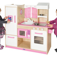 Guidecraft Play Along Pink Kitchen - G97276